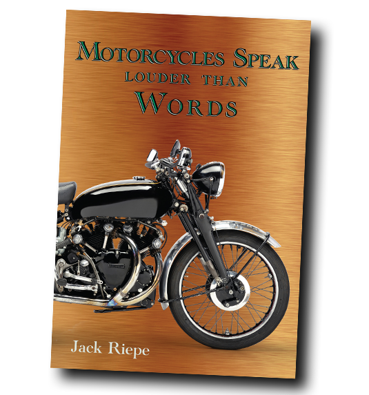***SOLD OUT*** Motorcycles Speak Louder Than Words