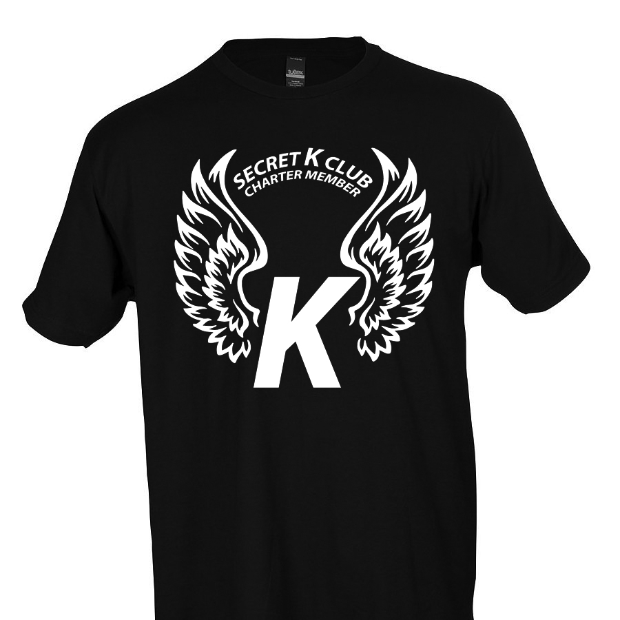 Klassic Black Secret K Club Semi-Formal Tee